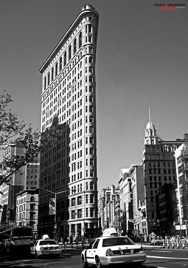The Flatiron Building, New York City, USA