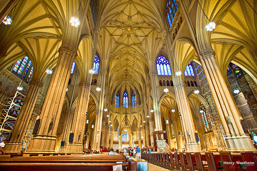 St. Patrick's Cathedral New York City Manhattan US