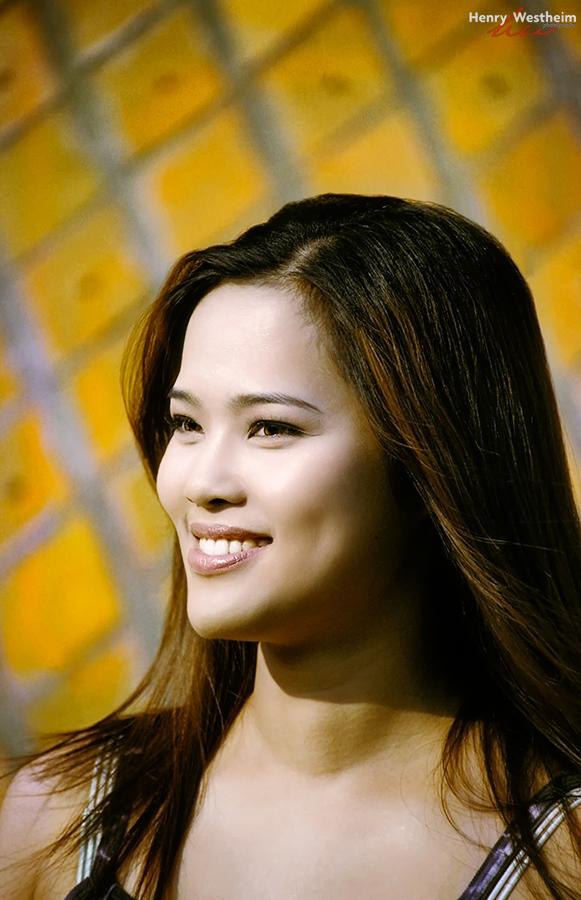 Beautiful young Taiwanese Chinese woman portrait