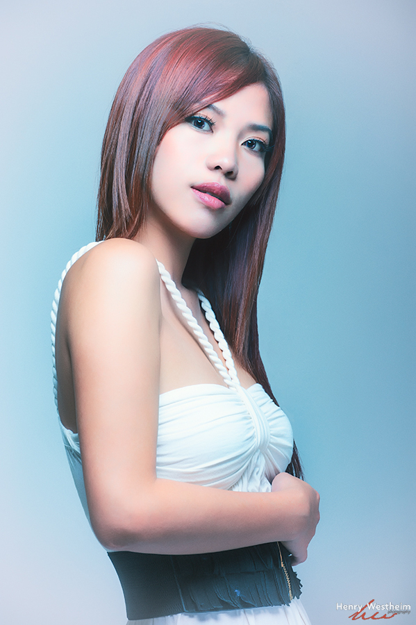 Portrait of a beautiful young Asian Chinese woman