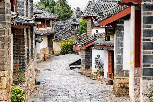 Lijiang Old Town ancient street, Yunnan, China