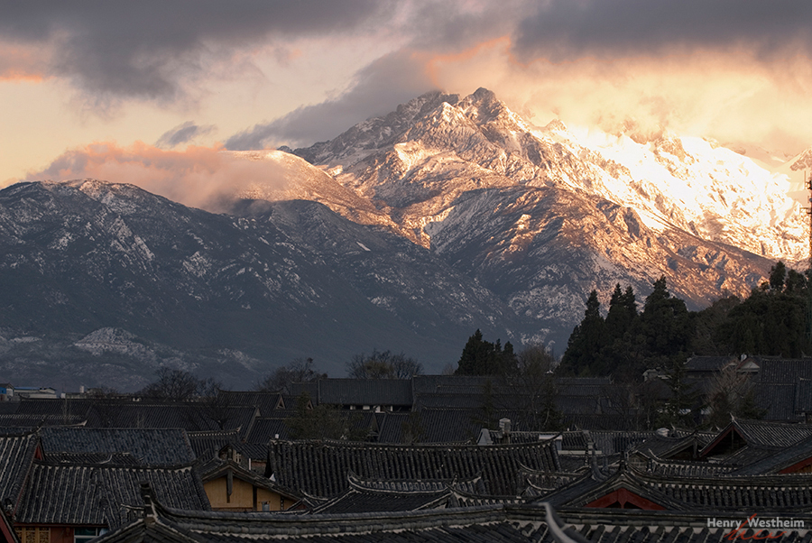 China, Jade Dragon Snow Mountain, Lijiang, Yunnan