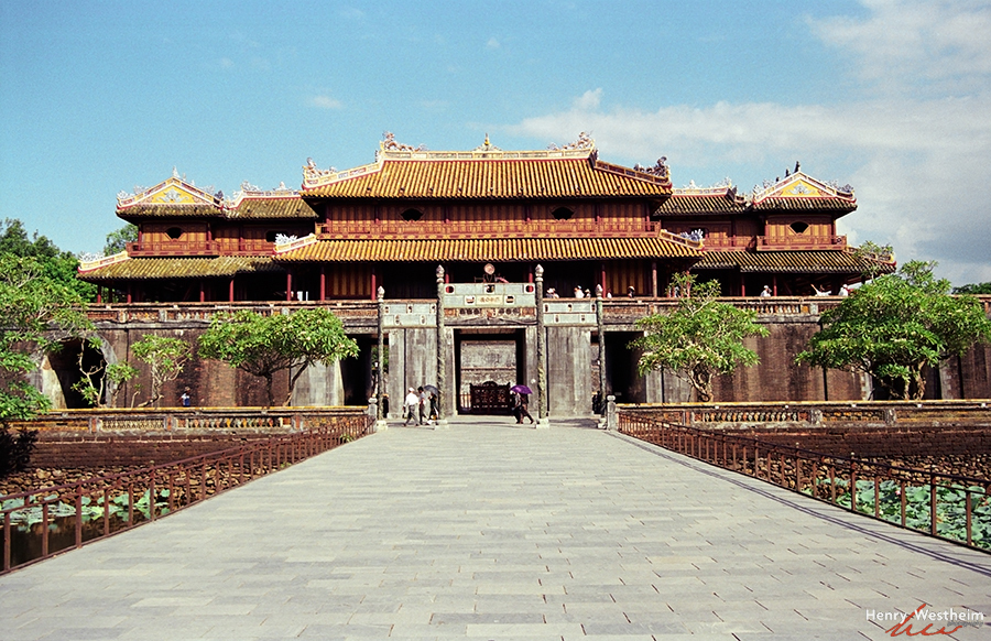 Vietnam, Hue, The Imperial City, The Citadel