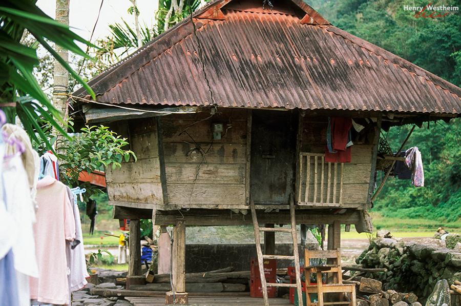 Philippines, Traditional Ifugao House, Banaue