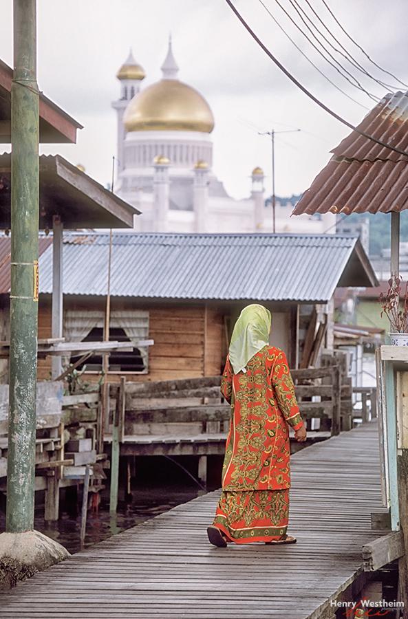 Kampong Ayer water village, Brunei Darussalam
