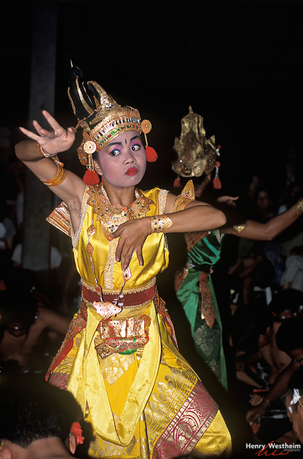 Balinese traditional dance, Ubud, Bali, Indonesia