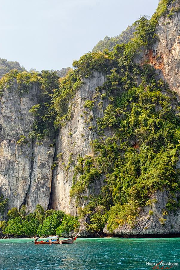 Kho Phi Phi Island, Krabi, Thailand, Sea Cliffs