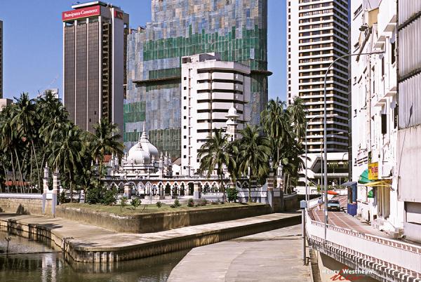 Malaysia, Kuala Lumpur, Masjid Jamek