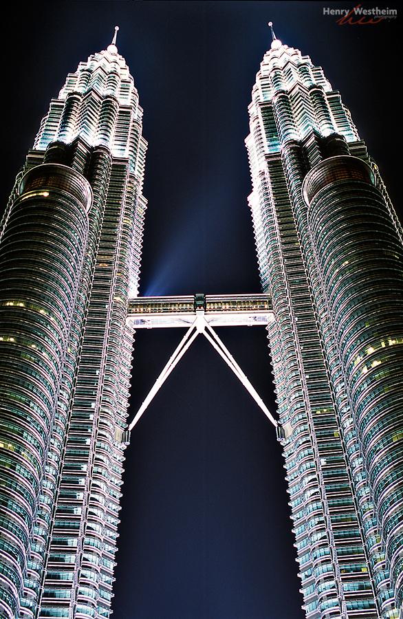 Petronas Twin Towers , Kuala Lumpur, Malaysia