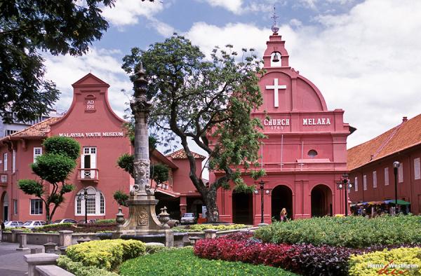 Malaysia, Melaka, Town Square, Christ Church