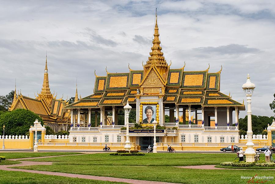 Cambodia, Royal Palace, Phnom Penh