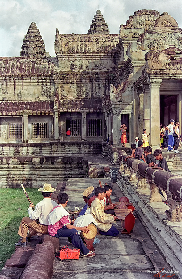 Cambodia, Traditional Music, Angkor Wat, Siem Reap