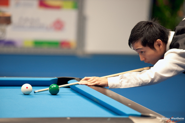 Billiards 9 Ball competition