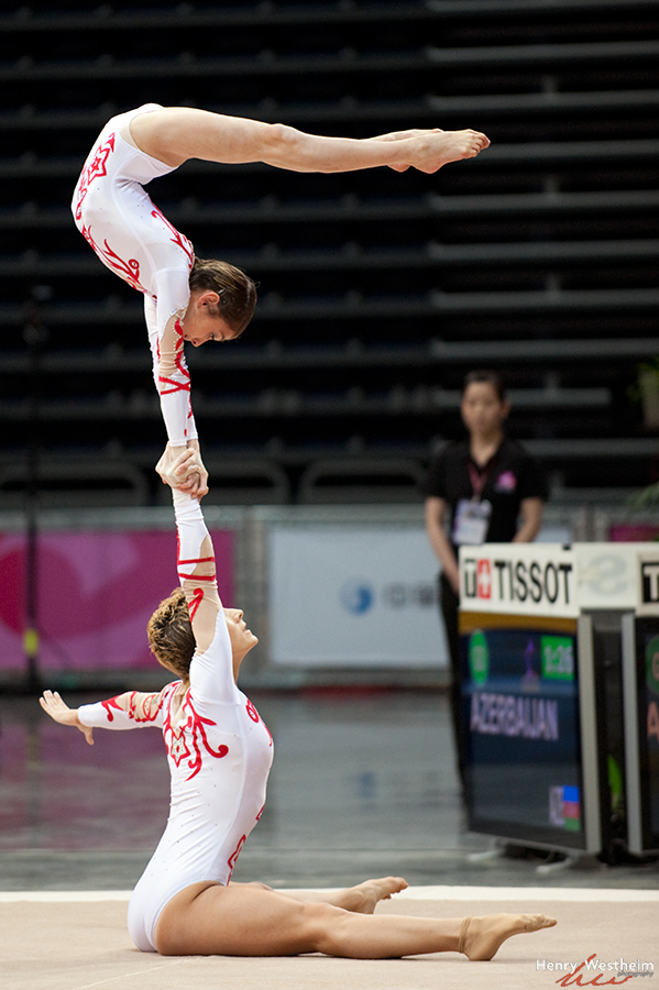 Gymnastics Acrobatics Pair Women competition