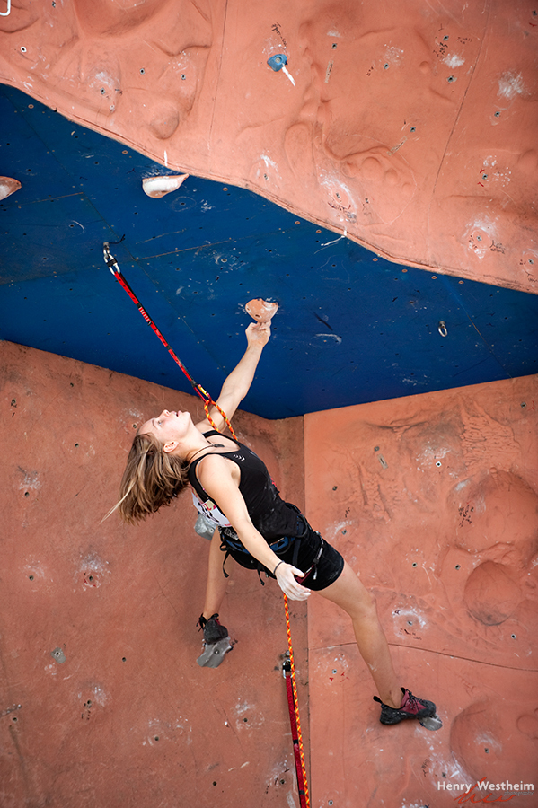 Sports Wall Climbing competition