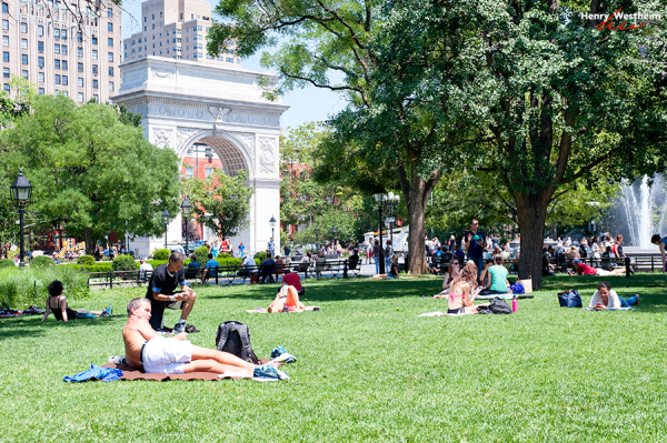 Washington Square Park, Greenwich Village, NYC