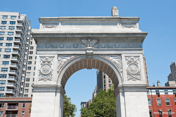 Washington Square Park arch, NYC
