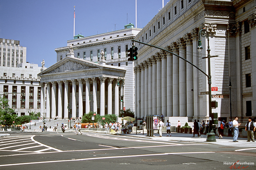 Thurgood Marshall United States Courthouse, NYC