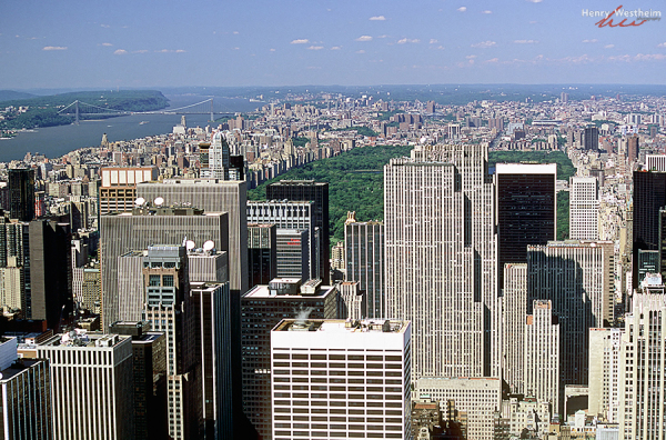 Central Park, Manhattan skyline, New York City