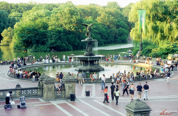 Central Park Bethesda Fountain at the Terrace, NYC