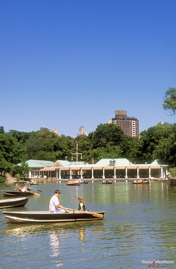 Central Park Boathouse Lake, New York City, NYC