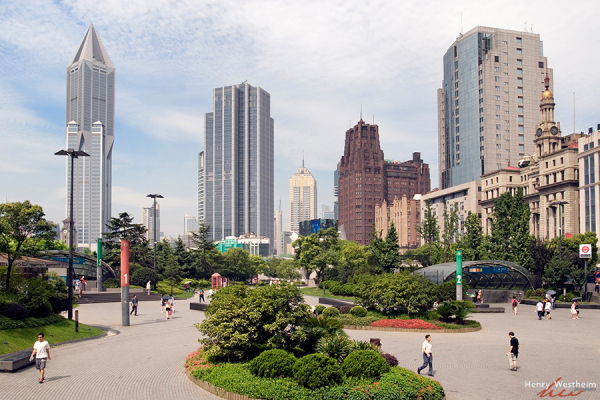 China, Shanghai, Nanjing Road, People's Square