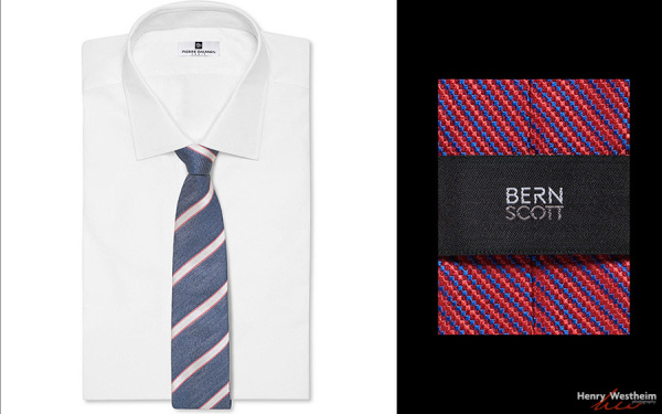 Silk tie and shirt, Product Photography