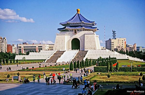 Taiwan, Taipei, Chiang Kaishek, Memorial Hall