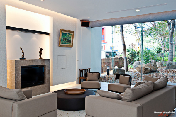 Interior architecture, residential, living room