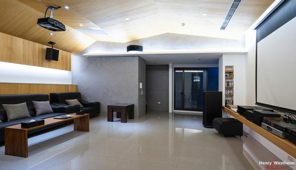 Interior architecture, home theater