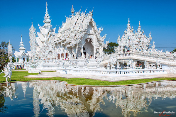 White Temple, Wat Rong Khun, Chiang Rai, Thailand