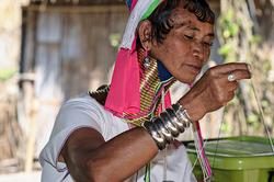 Karen Long Neck woman, Chiang Rai, Thailand