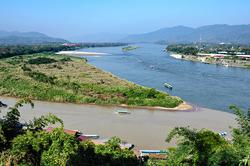 The Golden Triangle, Chiang Rai, Thailand