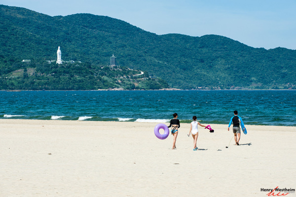 Da Nang, My Khe beach, Vietnam