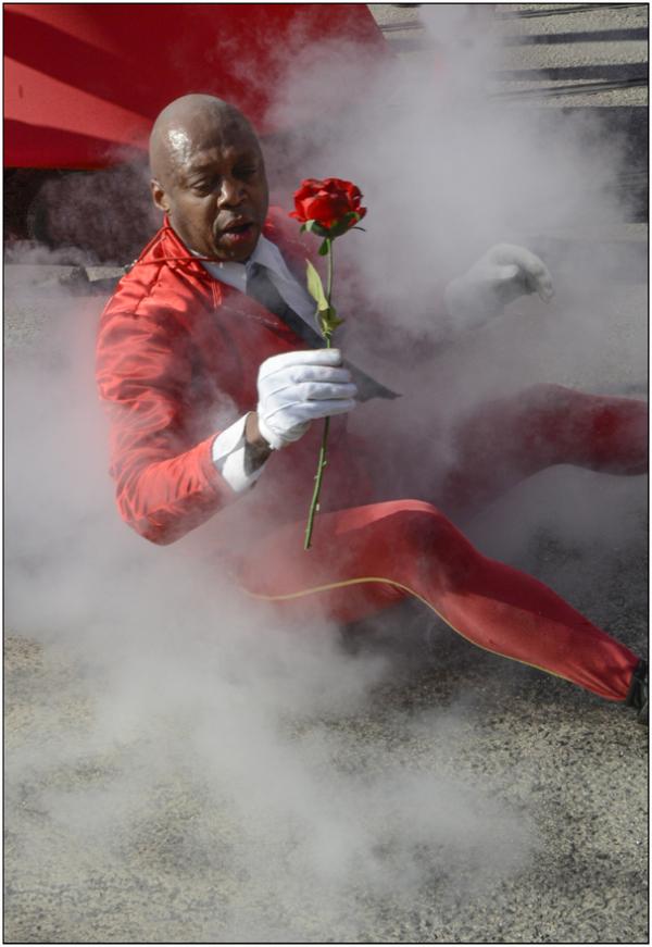 Rose bitume