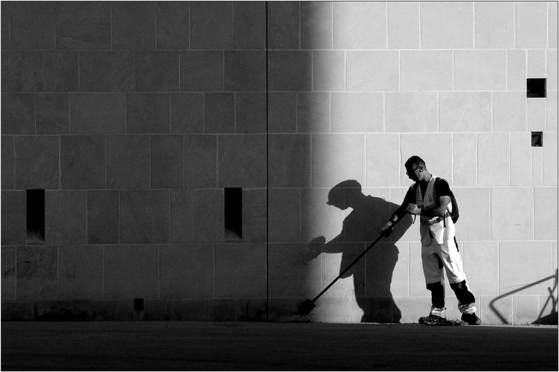 Balayer son ombre