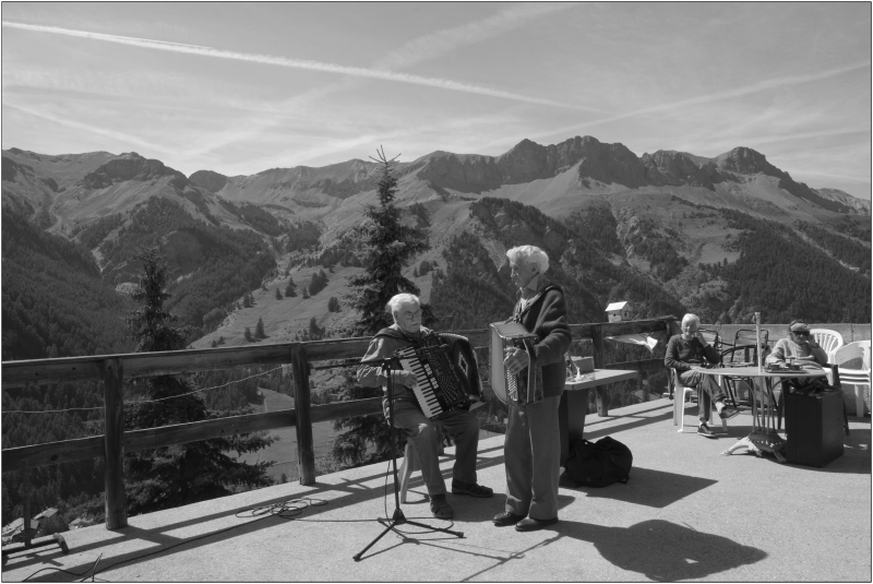 Musique en terrasse