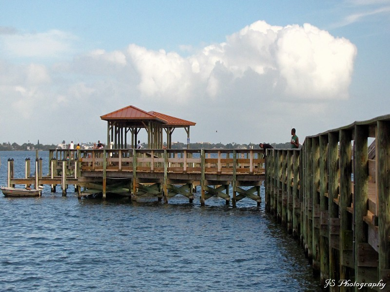 Eau Gallie Fishing Pier and Gazebo