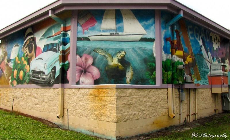 Community Amphitheater Mural