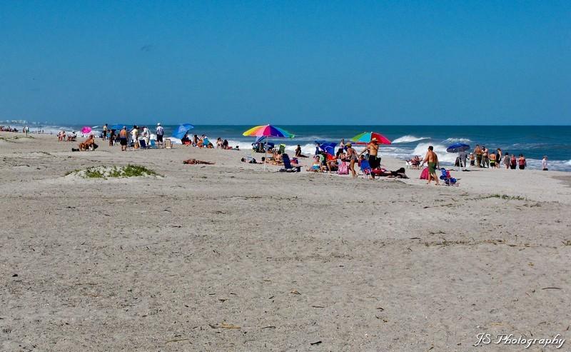 Day at the beach at Indialantic