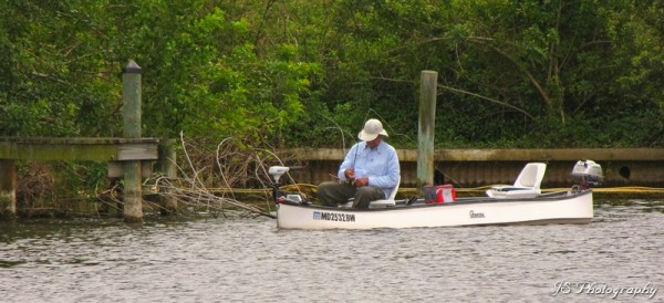Fishing in Crane Creek