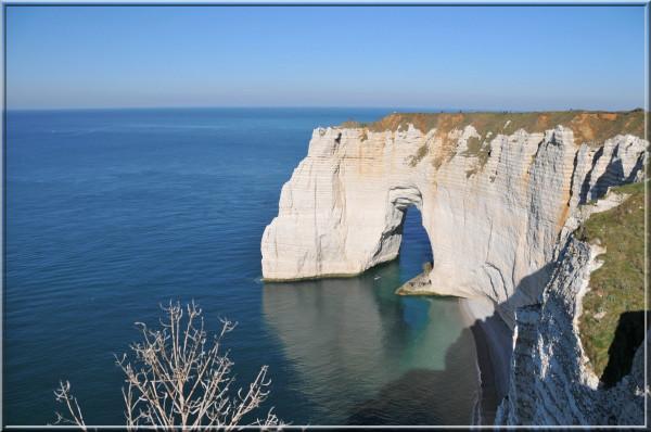 la Manneporte, a famous cliff at Etretat