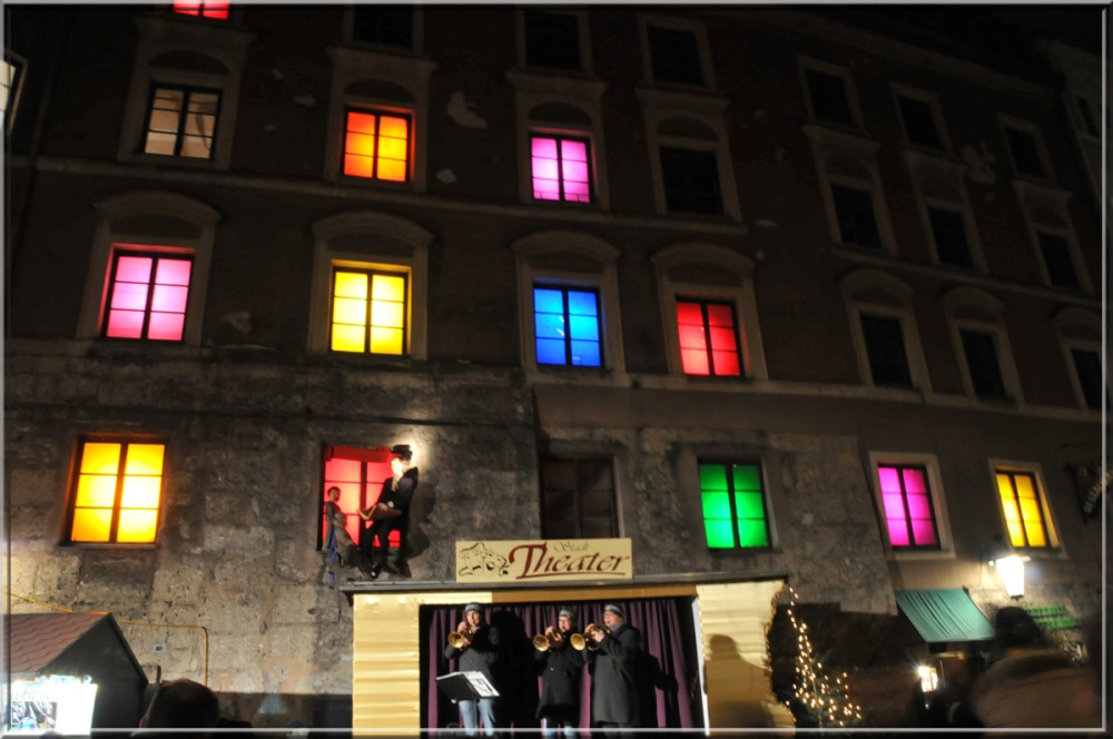 coloured windows in Innsbruck