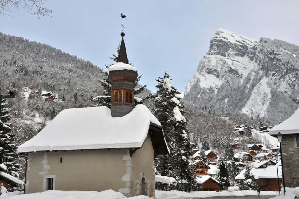 chapel du Berouze at Samoens (74, France)