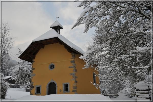 chapel du Châtelard in Morillon