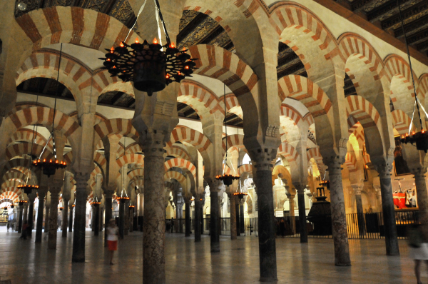 Cordoba, inside the Mosque