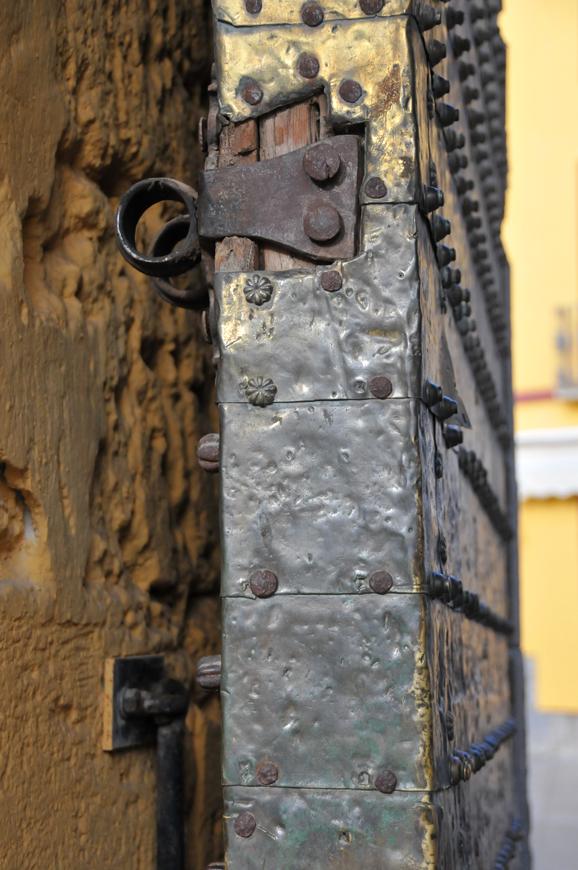 Cordoba, a door of the Mezquita