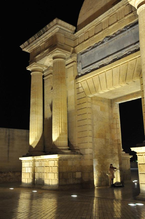 Cordoba, the Gate of the Roman Bridge
