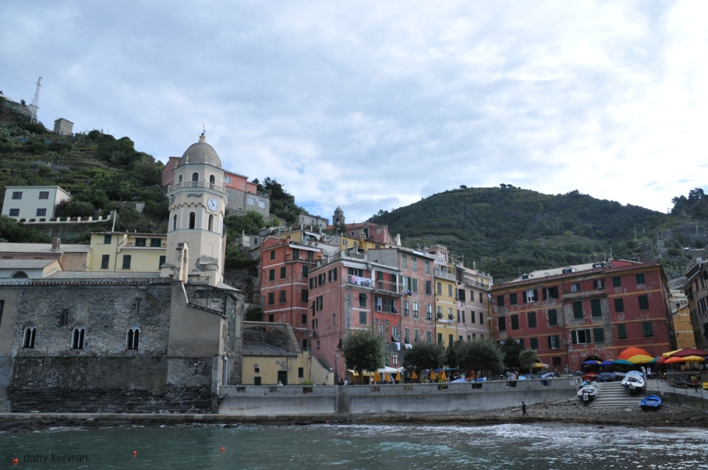 the harbour of Vernazza