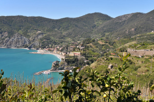overview on Monterosso-al-Mare, in the Five Lands